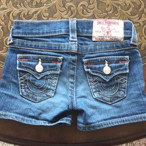 True Religion Shorts Girls sz 5